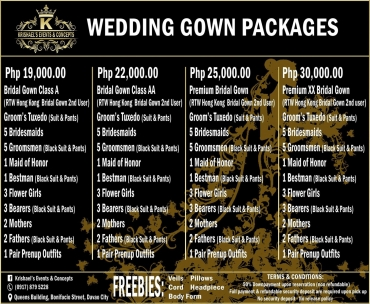 Davao Wedding Gown Package