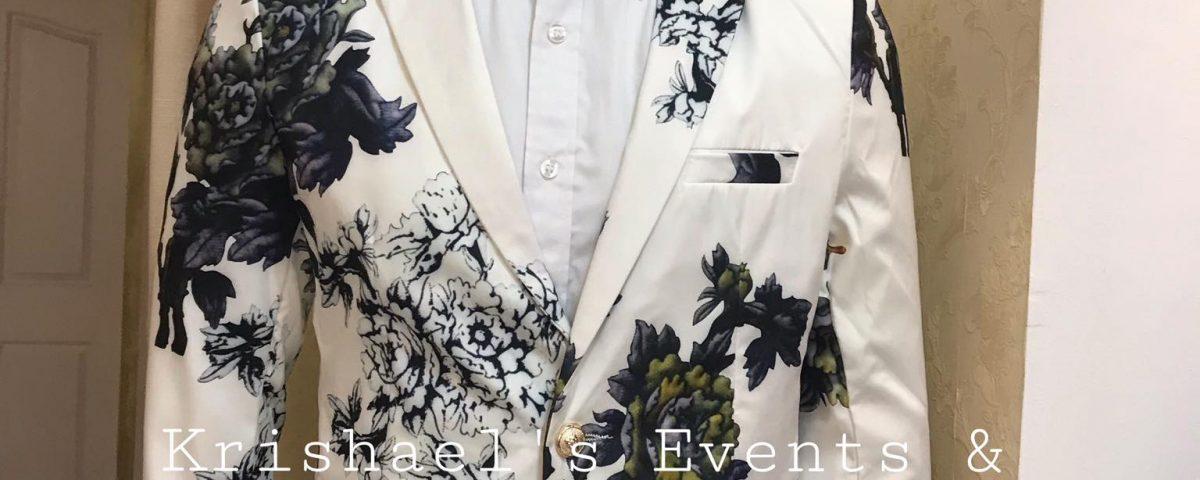 New Floral Suit