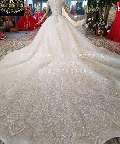Pre Order Premium Wedding Gown. Book at least 3 months before the event.  visit ...