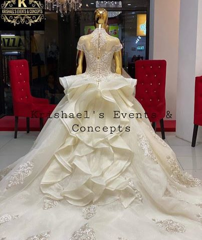New Arrival Premium XX Wedding Gown. Wedding Gown of our December 30 Bride  visi...