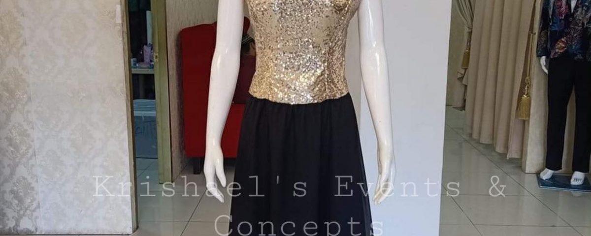 Black / Gold Dresses
