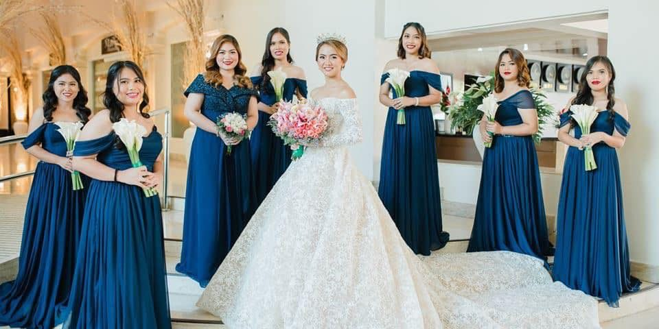 Midnight Blue Bridesmaid Dress  Krishael's Events & Concepts  Life & Pi...