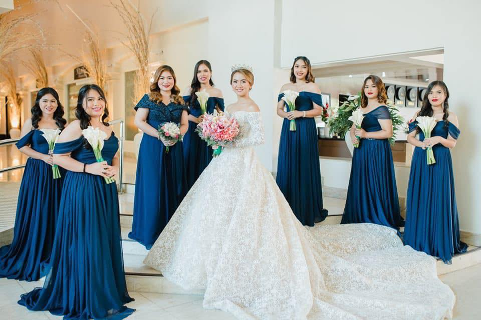 Midnight Blue Bridesmaid Dress  Krishael's Events & Concepts  Life & Pi...