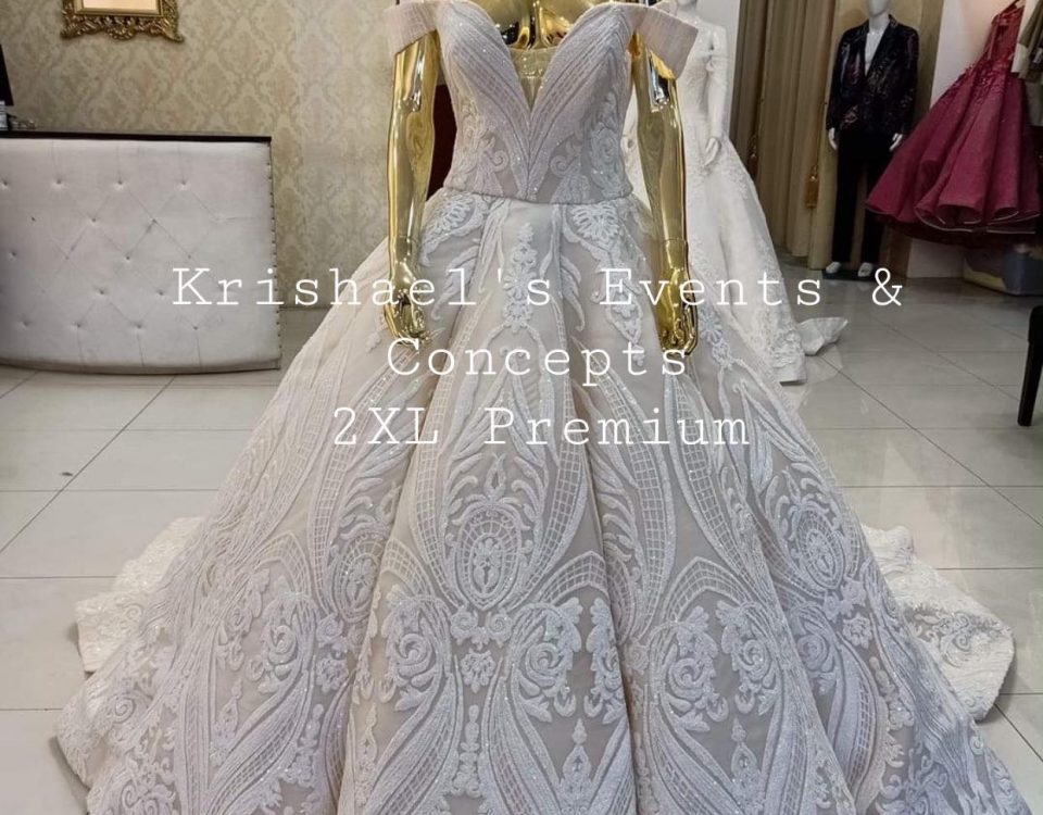 On Hand Plus Size 2XL Wedding Gown. This gown is available for Sale or First Use...