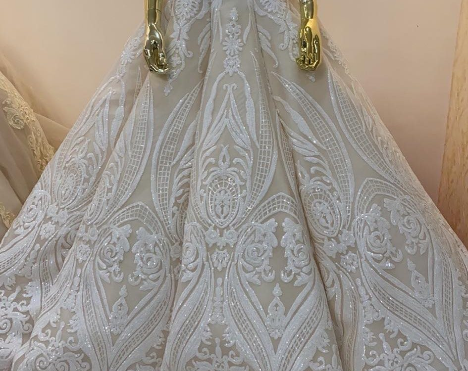 Premium Wedding Gown. No first user yet. Available for first user rent or buy.