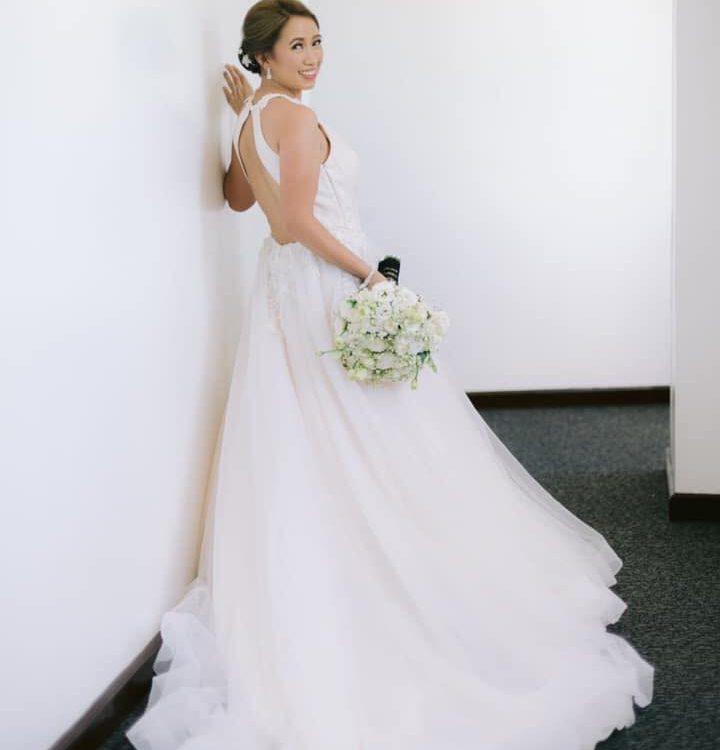 Such a gorgeous bride