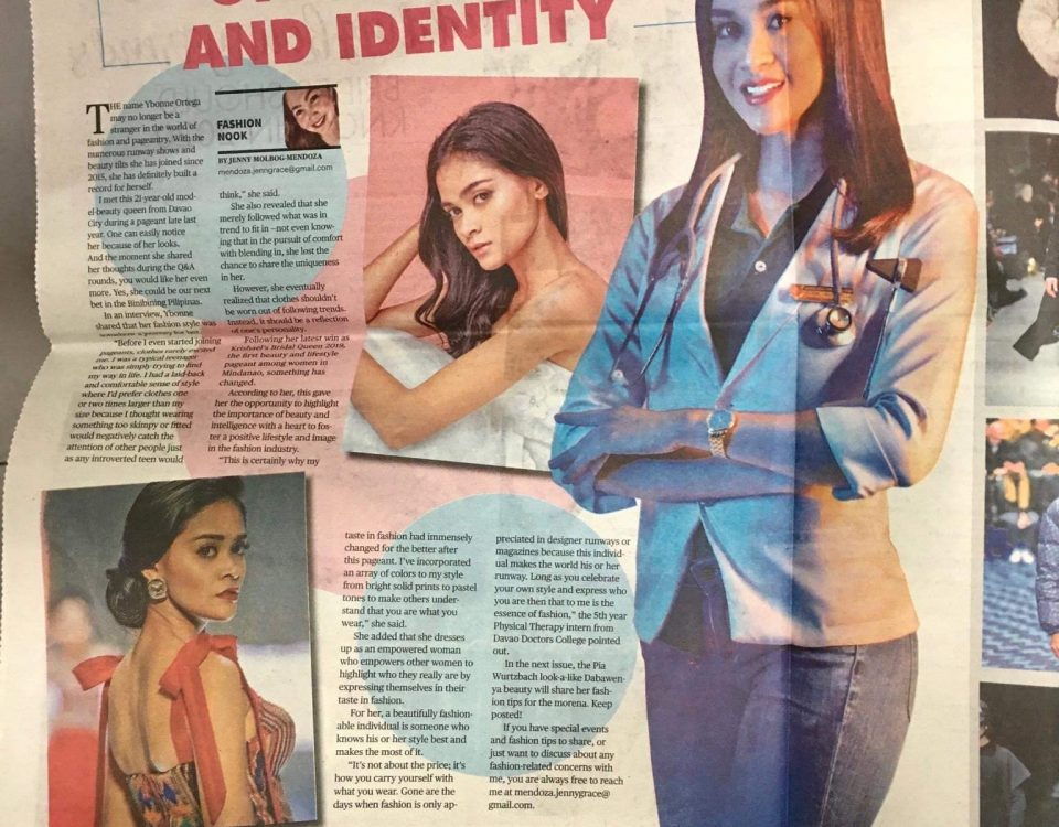 Thank you Sunstar Davao for featuring our Krishael's Bridal Queen 2019, Ybonne O...