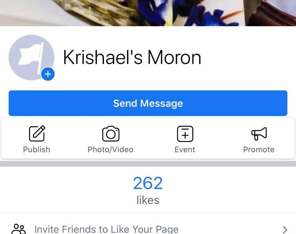 For Moron lovers pls like our facebook page Krishael's Moron. We will no longer ...