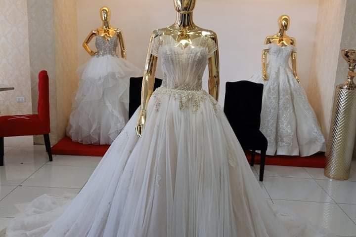 Class  B Wedding Gown