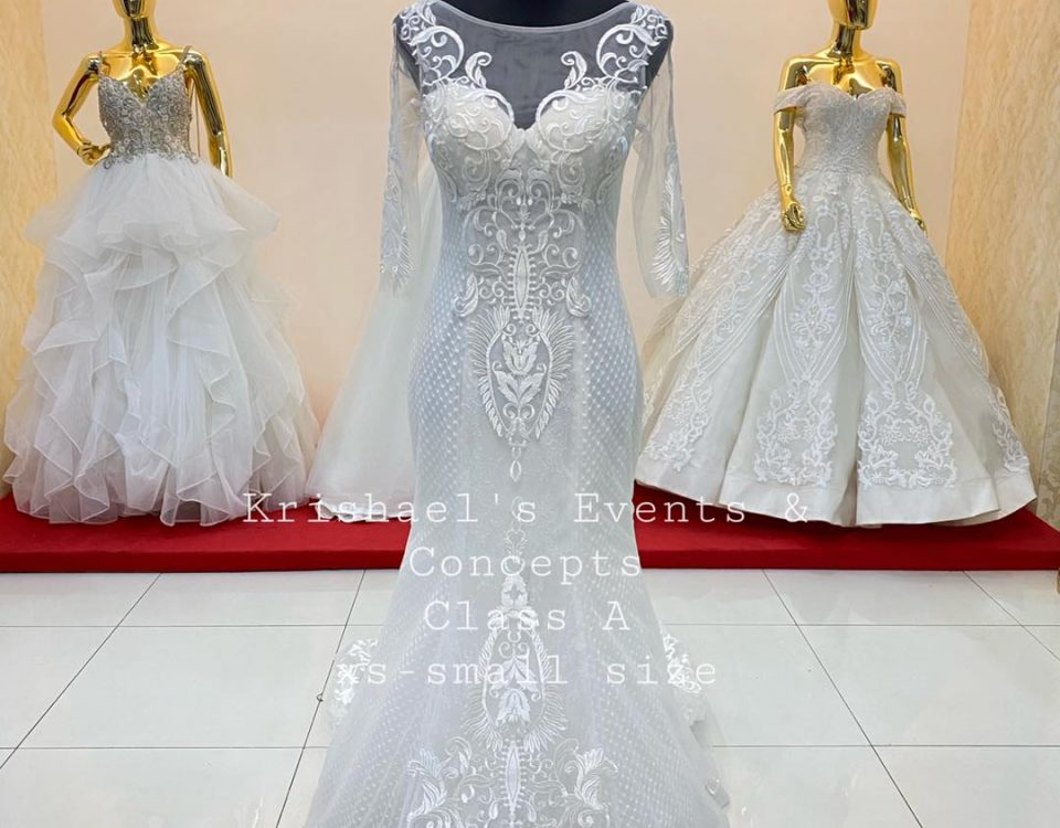 New Arrival Class A Wedding Gown available for first user rent or for sale.   Th...