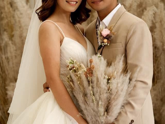 Congratulations Mia & Arnel.    Krishael's Events & Concepts    Diko San...