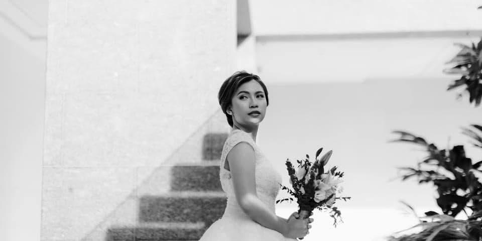 Glowing bride! Thank you maam Erika.   Krishae's Events & Concepts   MJ Mac ...