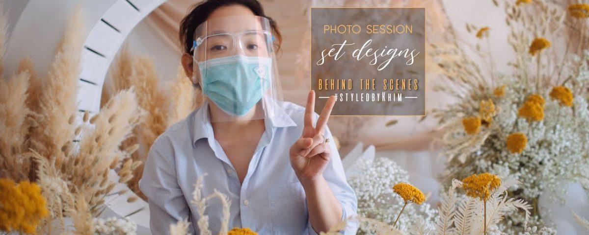 Making of Boho & Forest-Garden Photo Session Set Designs