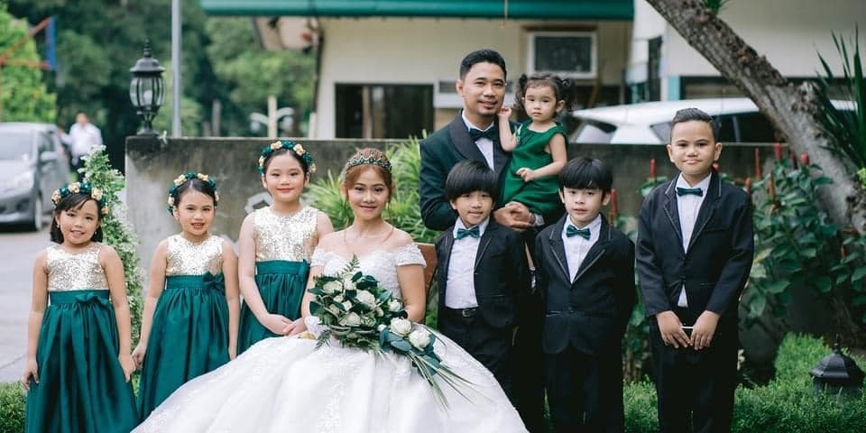 Charming flower girls and bearers   Planner | Rinnah Immanuelle Events Managemen...